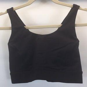 Lululemon cross back sports bra in black | 10